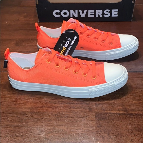 Converse Shoes   Cordura Orange Low